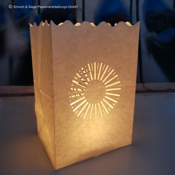 Ein Licht aus der Tüte