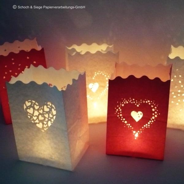 Mix aus Lichttüten für Ihre Hochzeit